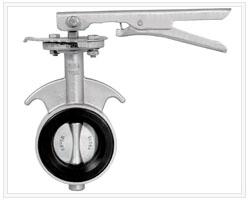 D71X-16P型不锈钢对夹蝶阀